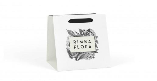 Printed Flower Bags Paper