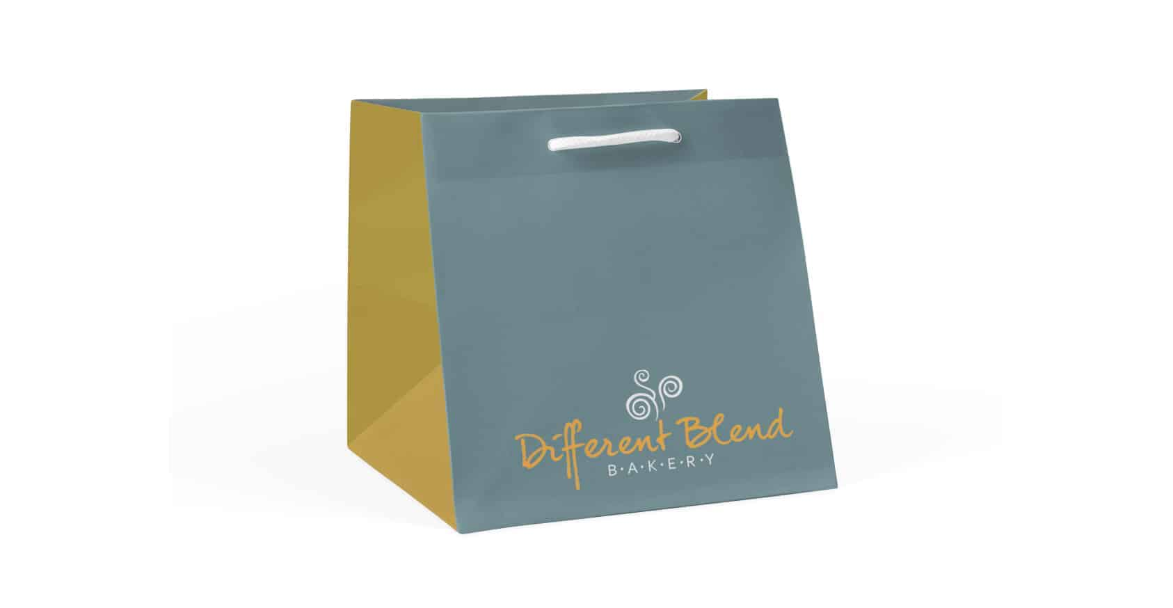 Bakery Paper Bags Wide Gusset Personalised