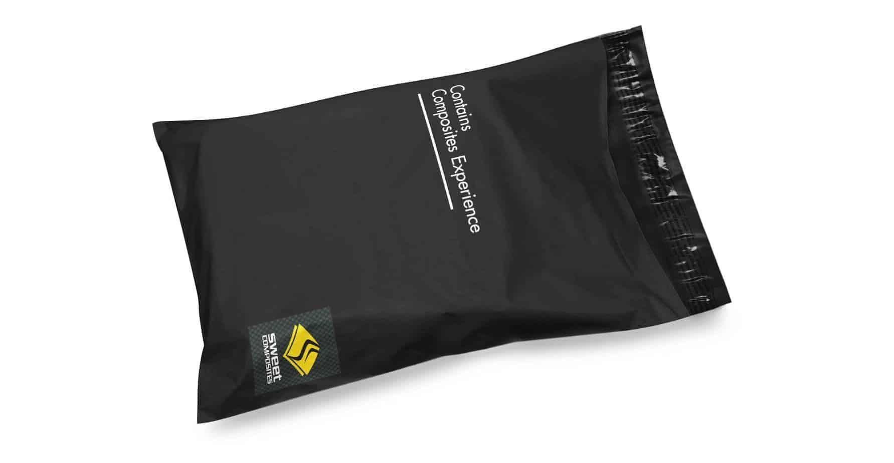 Custom Black Mailing Bag