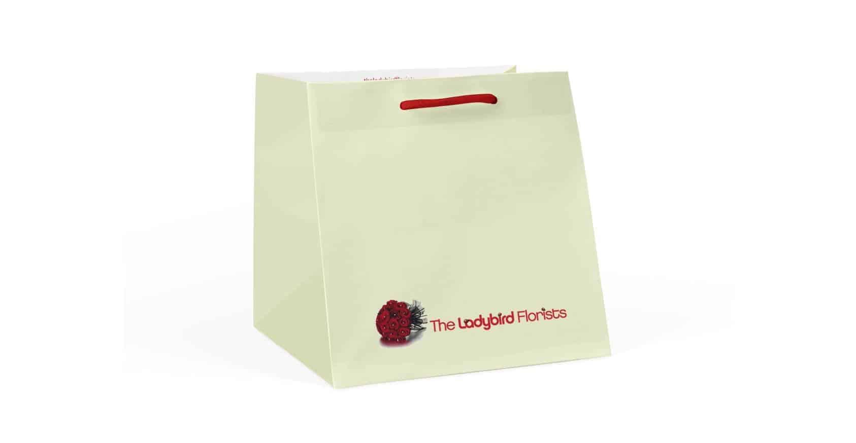 Custom Branded Wide Bags / Printed Flower & Cake Bags