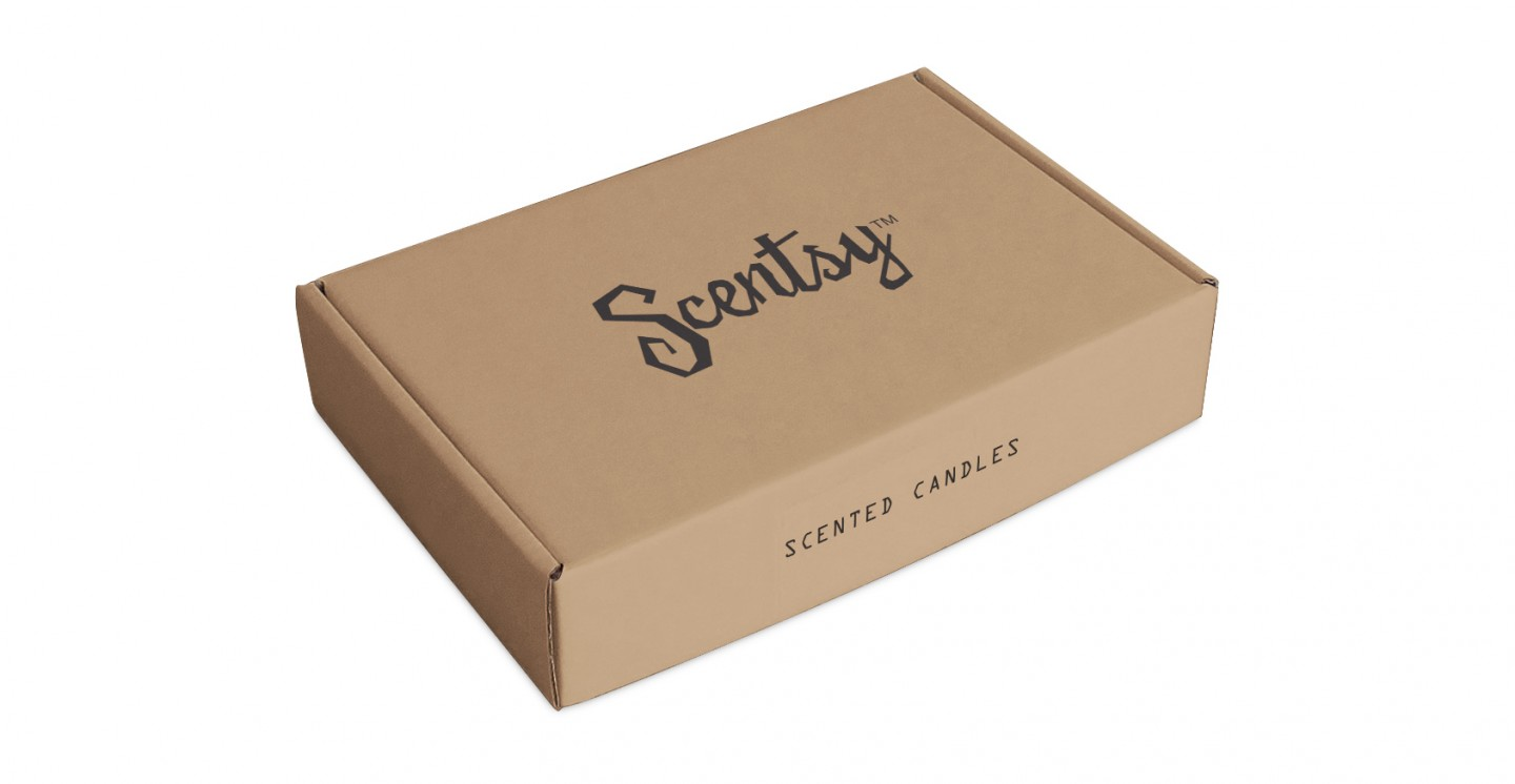 Scentsy Custom Printed Mailing Box