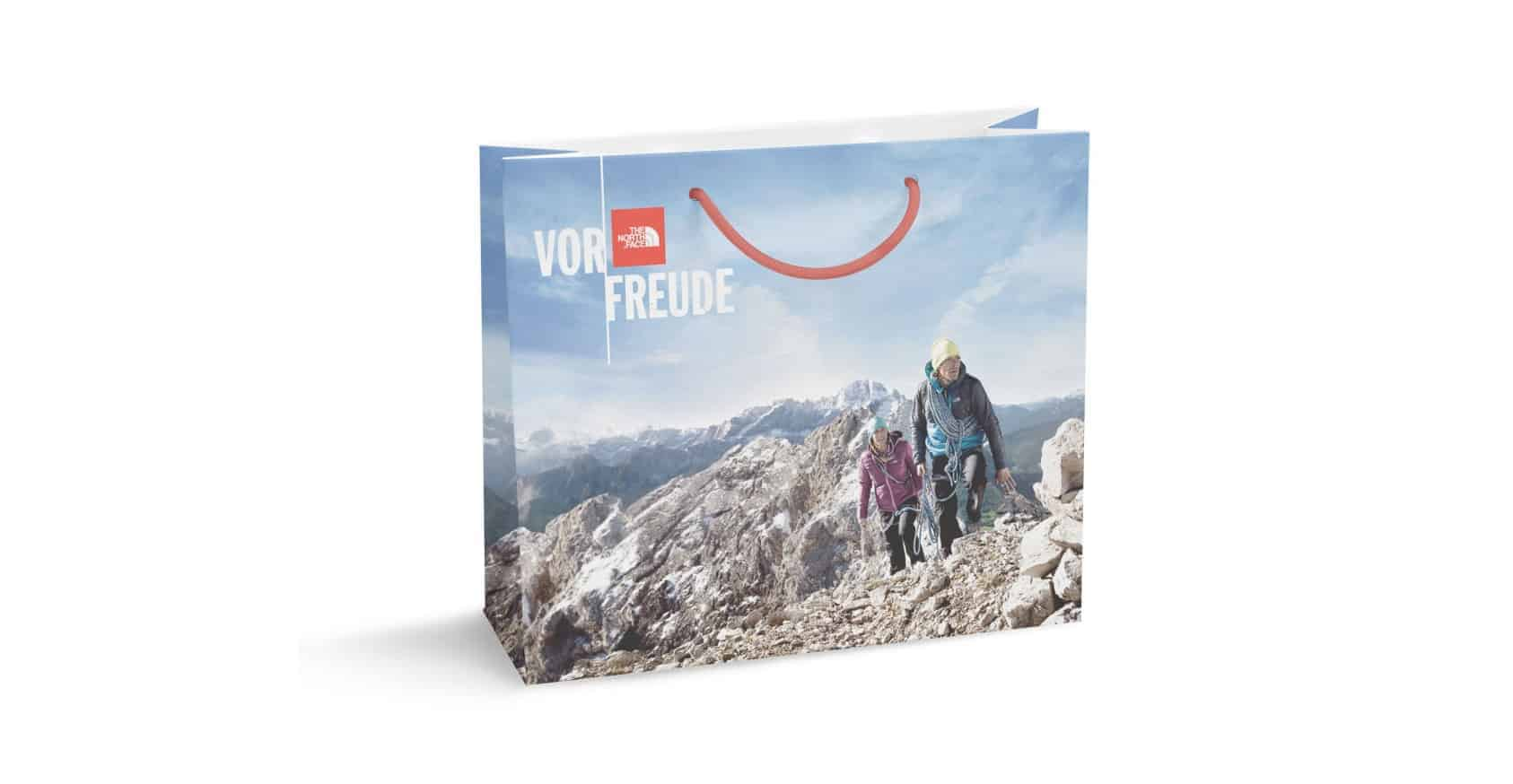 Vor Freude Full Colour Print Rope Handle Paper Bag