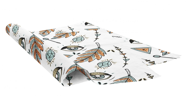 custom printed personalised full colour printed tissue paper