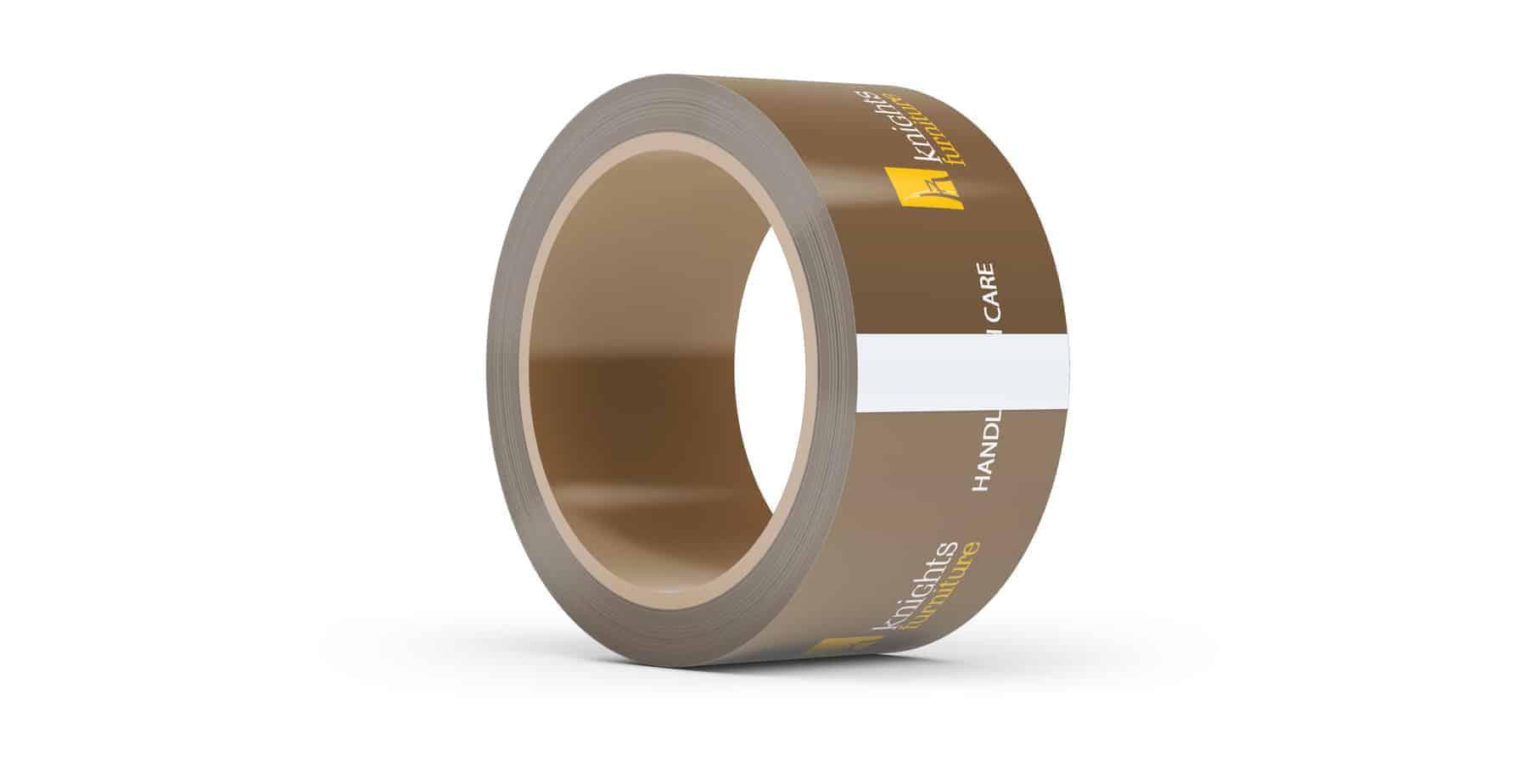 Brown Printed Packaging Tape