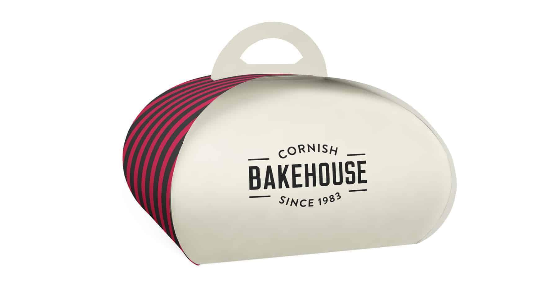 Cornish Bakehouse Custom Personalised Cake Boxes Curved
