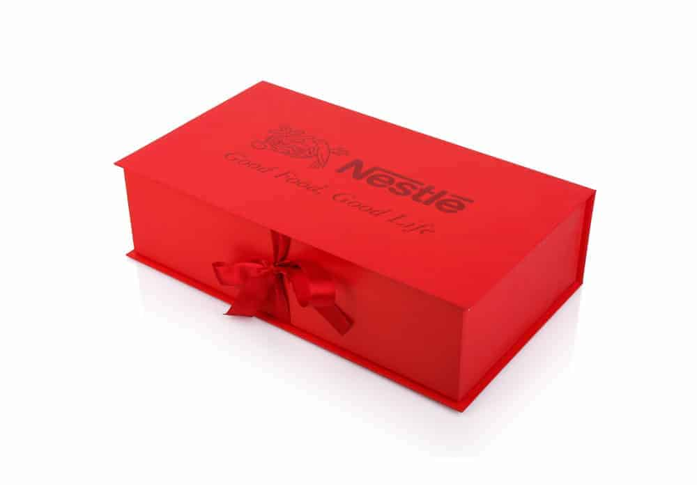 Nestle Chocolate Custom Printed Boxes