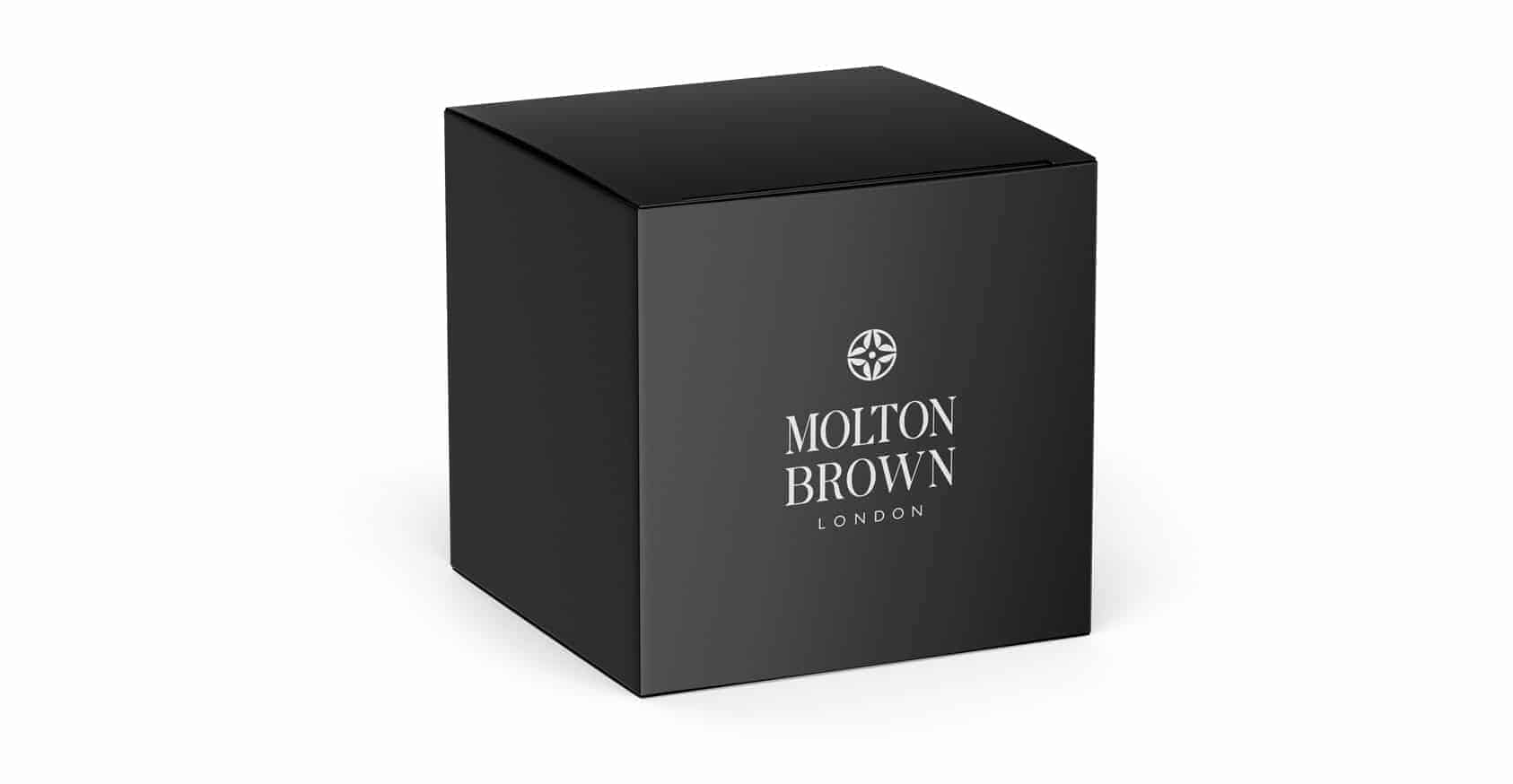 black molton brown custom candle boxes